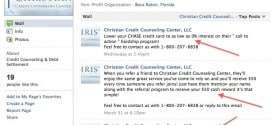 Reader Wants to Know Why Christian Credit Counseling Center is Pushing Chase Bank Call to Action Program