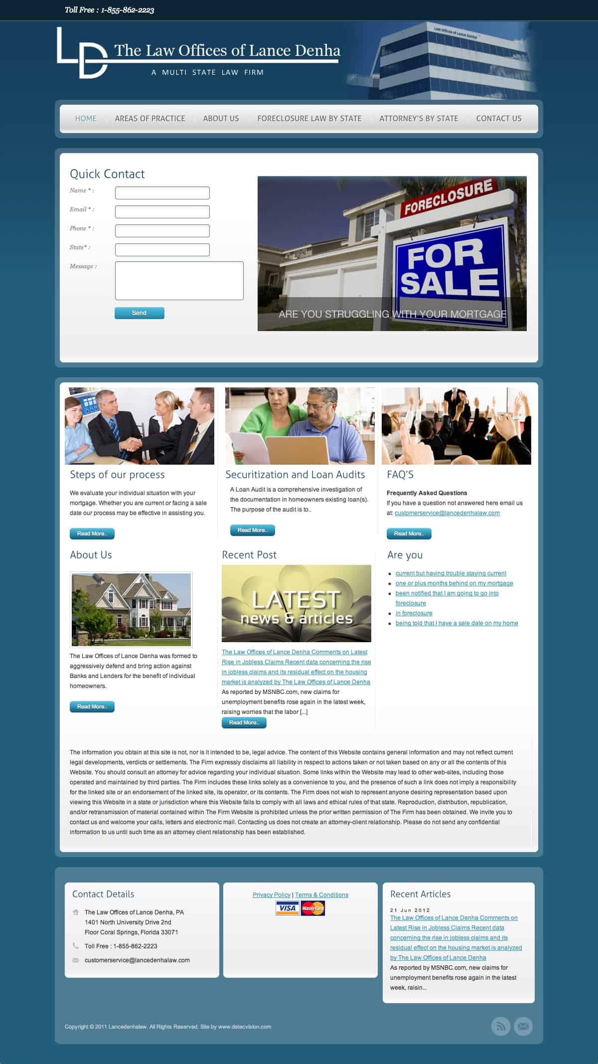 Foreclosure, Credit, Debt Consolidation, Home Refinance