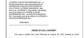 Credit Repair Outfit Nailed With Civil Contempt After Violating Court Order