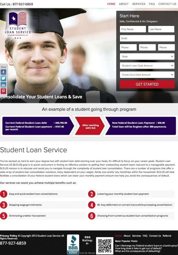 Home « Student Loan Service