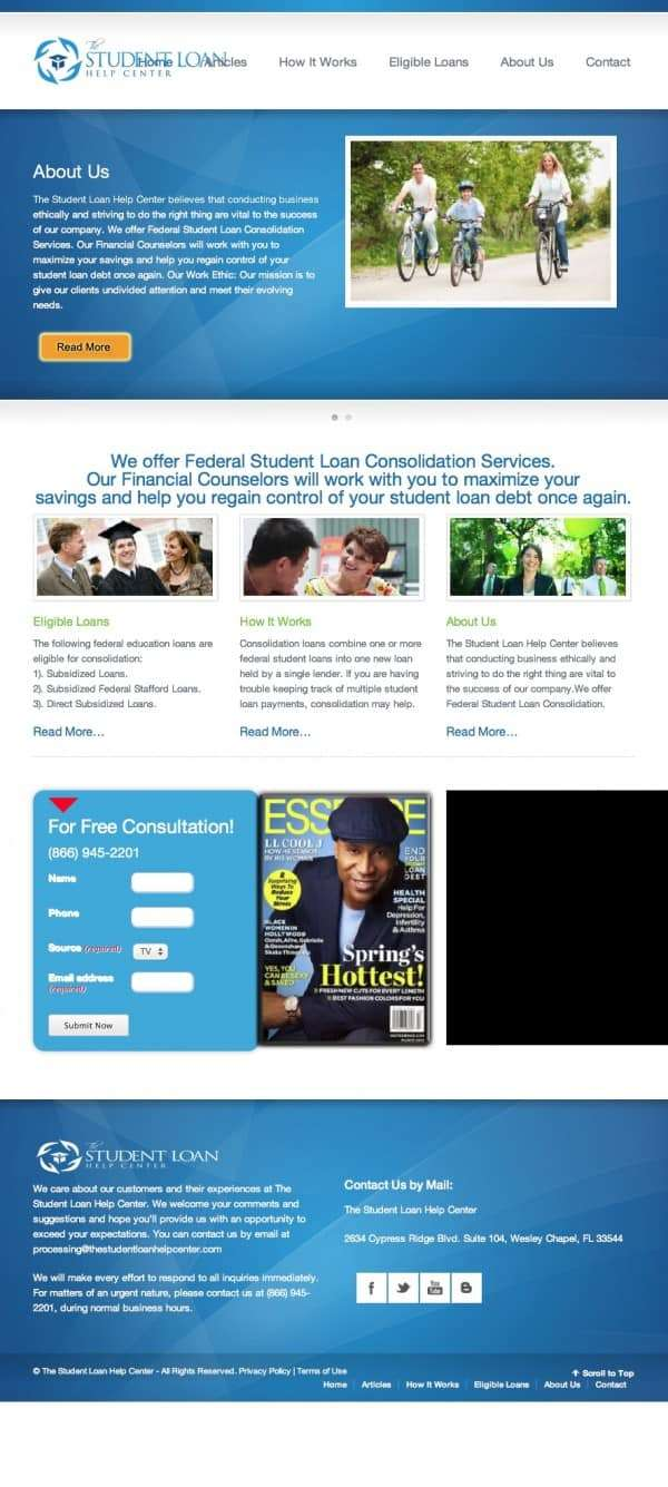 The Student Loan Help Center | Top Student Loan Help Network