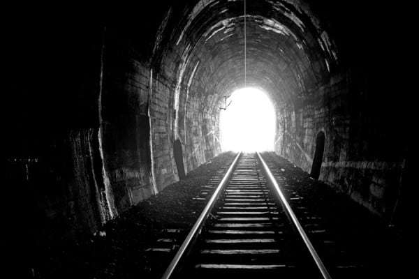 Don't give up, there is truly a light at the end of the tunnel if you will just open your eyes.