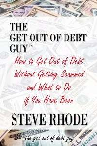 How to Get Out of Debt Without Getting Scammed - Book 1 COVER