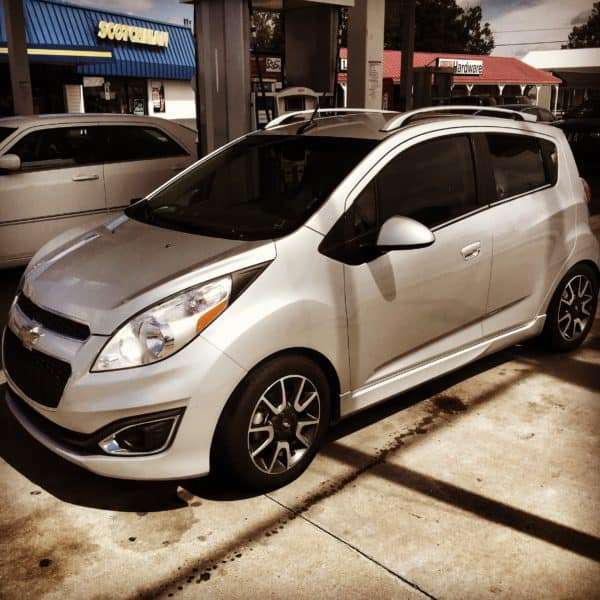 The Chevy Spark I drove recently.