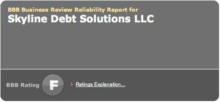 Skyline Debt Solutions BBB Rating